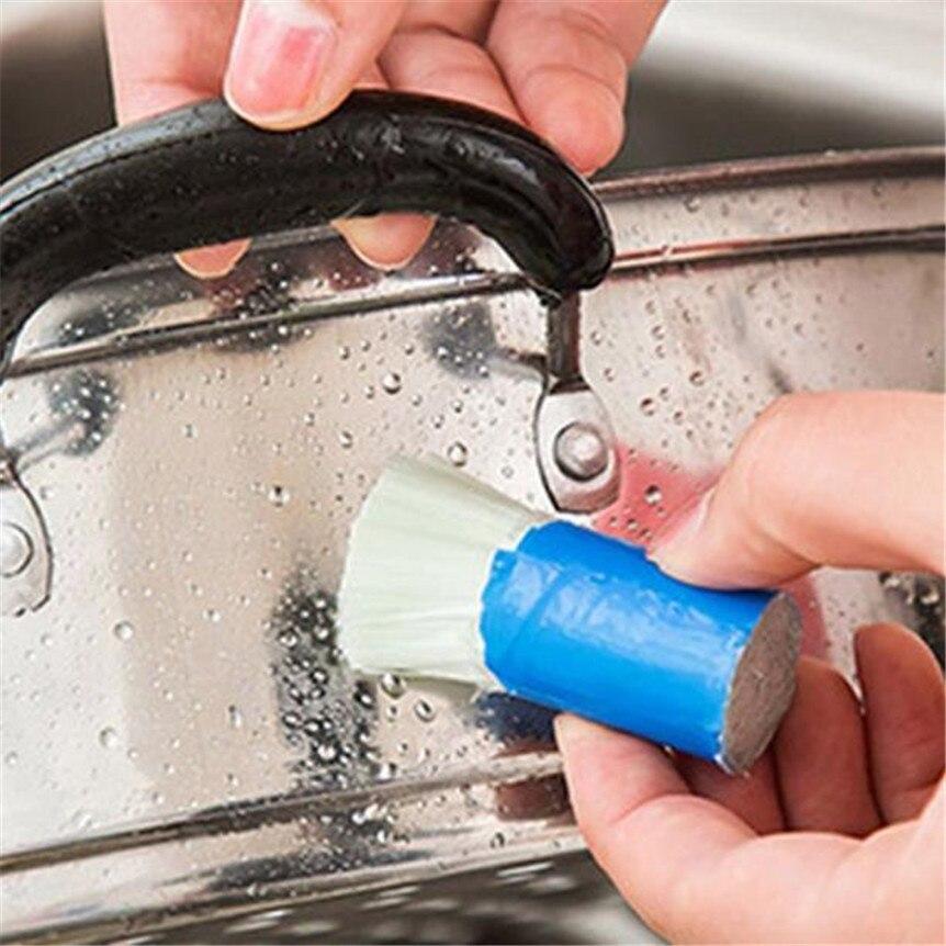 Нержавеющаясталь стержень Magic Stick ржавчины очистки для удаления мыть кисти протрите горшок многофункциональный оборудование для очистки