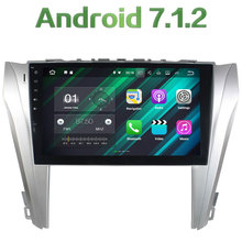 "10.1"" 2GB RAM 16GB ROM 4G LTE 2 Din Android 7.1.2 Quad Core 1024*600 12 V Car Radio MP3 Player for Toyota Camry 2014-2015"