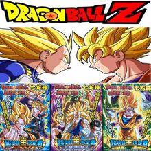 32 teile/los Anime Dragon Ball Z Sammlung Karten Super Saiyan Vegeta Goku Freezer Action Abbildung Kid Geschenk Spielzeug
