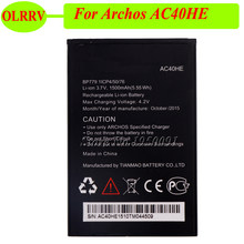 c612eecdd71560 1500mAh For Archos AC40HE Battery Batterie Bateria Batterij High Quality