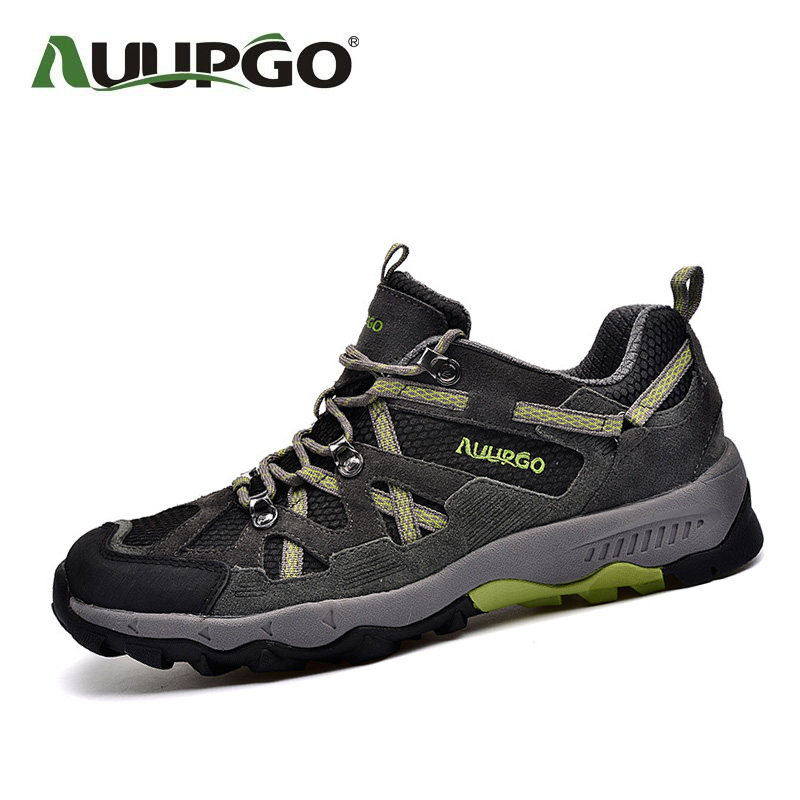 New Outdoor Shoes Men Hiking Shoes Women Waterproof Sport Shoes Non-Slip Mountain Shoes For Couple B2603 2016 new couple hiking shoes breathable non slip outdoor sports shoes large size climbing shoes for men and women