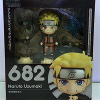 1pc/lot Movable Joint Change Face Naruto Anime Figures Office/Home Decoration Model Figures Toys With Box 14cm