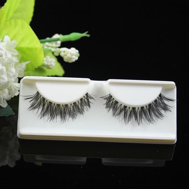 Fashion false eyelashes crisscross hot sell eyelashes extension hand made eye lashes invisible full strip lashes (32pairs/lot)