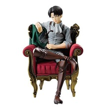 NEW hot 15cm Attack on Titan Levi Rivaille Rival Ackerman sofa action figure toys collection doll Christmas gift with box attack on titan anime figurine shingeki no kyojin juguetes levi rivaille 25cm pvc action figure model collection model toys