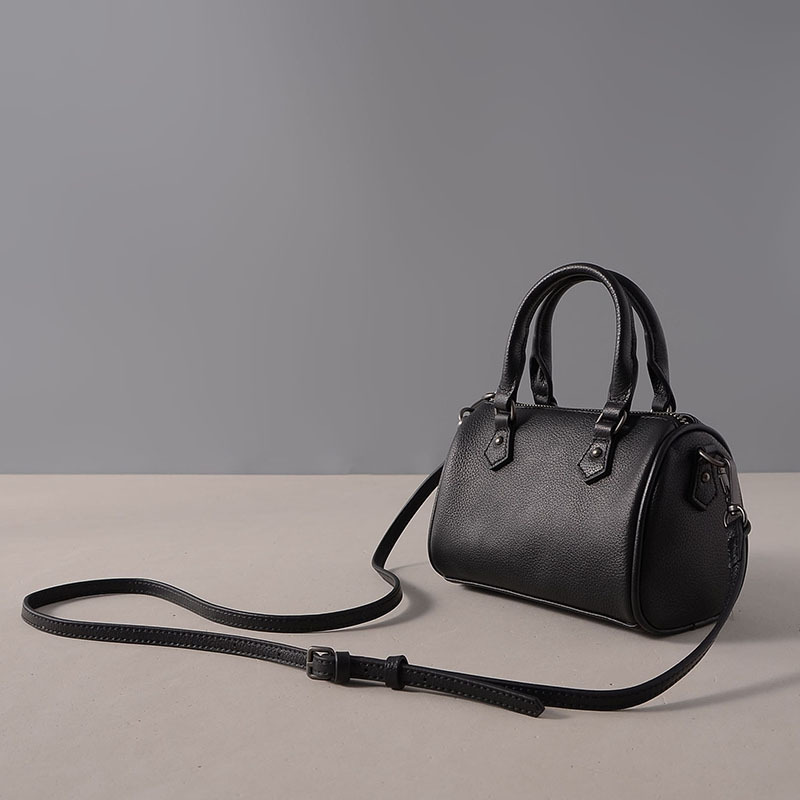 2017 New Genuine Leather Women Bag Tote Boston Handbags Women Shoulder Bags Ladies Top-handle Mini Bags Fashion Female Designer new arrival designer large women leather handbags female genuine leather tote bags high quality brands top handle bag for ladies