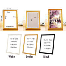 Suit for All kinds of diy oil painting by numbers wood frame wall Diamond painting embroidery picture frame Photo Picture frame