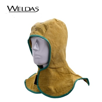 Leather Flame retardant welding head neck protective hood Hat head cap safety cover 1meterwear resistant flame retardant nylon protective sleeve sheath cable cover welding tig torch hydraulic hose large diameter