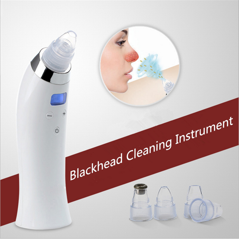 Hot Vacuum Suction Face Pores Nose Blackhead Cleaner And Removal Machine Beauty Instrument Skin Care|beauty instrument|face pore|machine beauty - title=