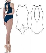 Adult black ballet leotards for girls Ballet clothes for wowen gymnastics leotardsCS0064