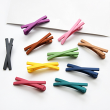 Newest 2019 Fashion Solid Candy Color Women Girls Hairpins Hair Clip Kids Headwear Children Accessories Baby Clips