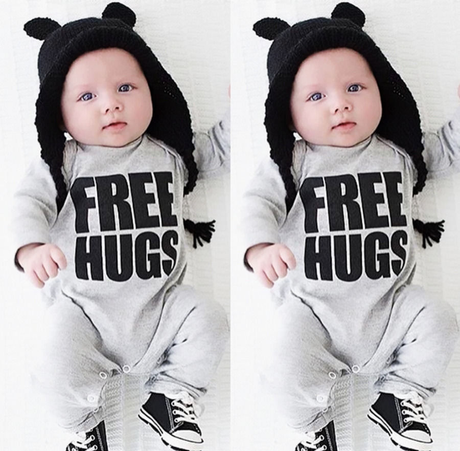 2016 Newborn Baby Boys Romper Clothes Warm Long Sleeve Baby Rompers Jumpsuit Outfits NEW newborn baby rompers baby clothing 100% cotton infant jumpsuit ropa bebe long sleeve girl boys rompers costumes baby romper