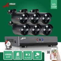 ANRAN HD 1080N 8CH HDMI DVR CCTV Video 6 Outdoor IR Home Security Camera System Free