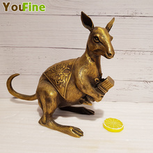 Bronze Carved Kangaroo Decorations Bronze Objects Animals Gifts Crafts Decorations Hotel Decorations d toub objects
