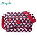 Womens Crossbody Bags Brand 2017 Canvas Messenger Bag Small Female-Bags Red New Fashion Printed Casual Women Messenger Bags
