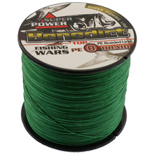 Super carp fishing tackle 8strands 300M strong pe line fishing braid moss green wire leader fishing wires 6-100LB fishing thread
