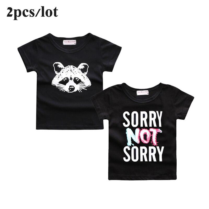 Sun-Moon-Kids-2PCSLot-baby-clothes-cartoon-fox-pattern-bebes-boys-girls-t-shirt-newborn-boy-tops-tee-infant-girl-clothing-1