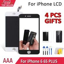 5,5 «AAA Дисплей для iPhone 6 6S Plus ЖК-дисплей Сенсорный экран планшета Ассамблеи Замена для iPhone 6p 6SP мобильного телефона ЖК-дисплей модуль