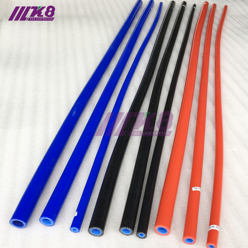 Straight Silicone Coolant Hose 1 Meter Length Intercooler Pipe ID 6.5mm 8mm 10mm 12mm 13mm Red/Blue/Black