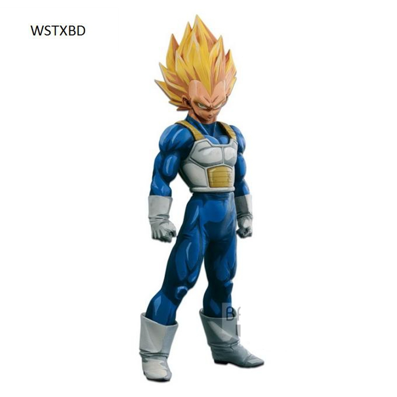WSTXBD BANPRESTO Original Dragon ball Z DBZ SMSP Vegeta Manga Color PVC Figure Toys Figurals Model Dolls Brinquedos new original dragon ball z dbz blue god vegetto final pvc figure toys figurals model kids dolls