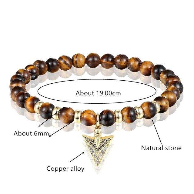 Купить женский эластичный браслет janeyacy модный с бусинами из натурального