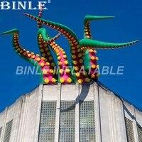 Лидер продаж негабаритных зеленый надувной осьминог щупальца гигантские Медузы ноги воздушный шар для вечерние жной вечеринки украшения