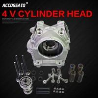 Motorcycle Modified GTR Aero 125 BW S R 125 4V 4 Valve Cylinder Head RS Zero
