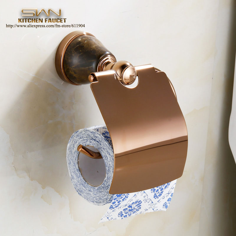 Free Shipping Luxury Rose Red with Stone Bathroom Toliet Tissue Paper paper Box Roll Holders bathroom accessories bath hardware