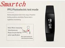 Smartch V07 smart bluetooth браслет Подключение с Android и iOS смартфон для Мониторы вашей спортивной активности и здоровья DA