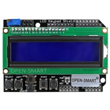 LCD 1602 Keypad Shield 1602 display LCD Expansion Board for Arduino