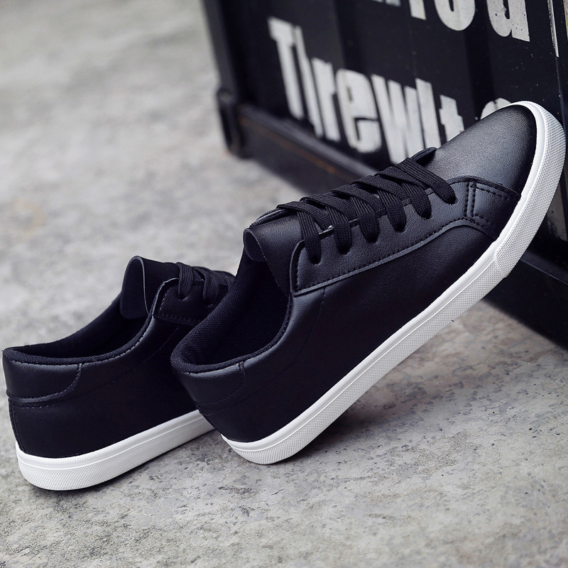 51bb70c8183 US $10.07 44% OFF|Sneakers women 2019 new fashion breathable women running  shoes outdoor leather women sneakers lace up sneakers zapatillas mujer-in  ...