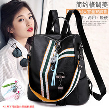 New portable ladies outdoor travel shopping bag large capacity waterproof fashion casual backpack student bags