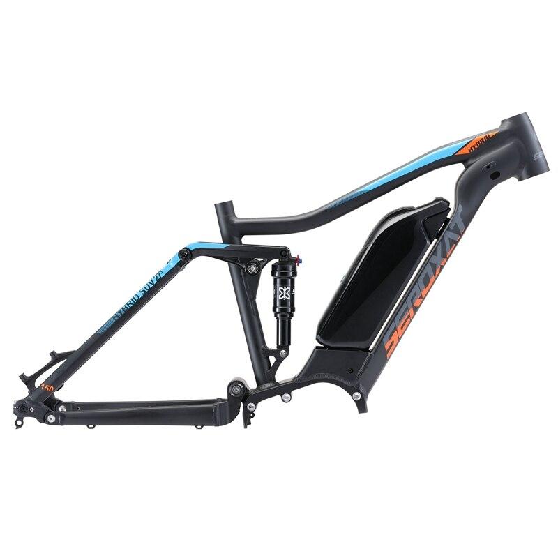 MTB E BIKE motor bike frmae SUV suspension frame aluminium alloy cross country electric frames shock bicycle downhill frame - 2
