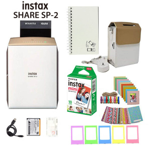 Image 2 - Fujifilm Instax Share Smartphone Printer SP 2, Two Colors Silver and Gold + Matched Case Gift