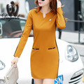 Plus size Women dresses Atutumn 2016 Vestidos NEW Long sleeve Hoodies dress Fashion Women Casual dress