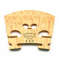 2 pièces Véritable Despiau Supérieur Violon Pont Érable Bois Matériel Pour 4/4 Violon Trois Arbres violon Accessoires Fabriqués en France