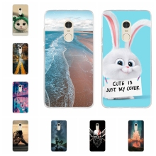 For Xiaomi Redmi Note 4 4X Case Soft TPU Silicone X Cover Trees Patterned 4x Coque