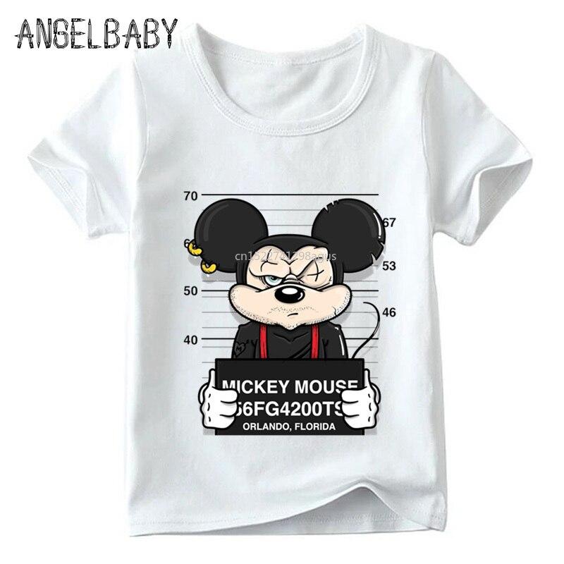 Ausdrucksvoll Jungen Und Mädchen Lustige Hund Maus Ente Cartoon T Shirt Baby Bequem Weiß T-shirt Kinder Sommer Casual Kleidung, Hkp2436 Einfach Zu Schmieren