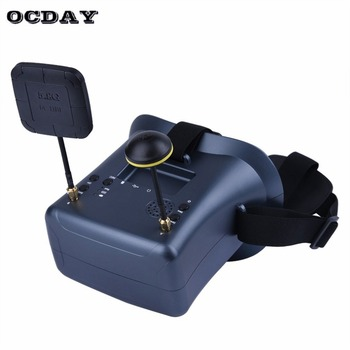 LS-008D 5.8G FPV Googles vr glasses High Quality 40CH With 2000mA Battery DVR Diversity For RC Model 92% Transparent Lens fi
