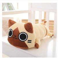 Japanese Anime Monster Hunter AIROU Cat Plush Dolls Plush Toys 40cm