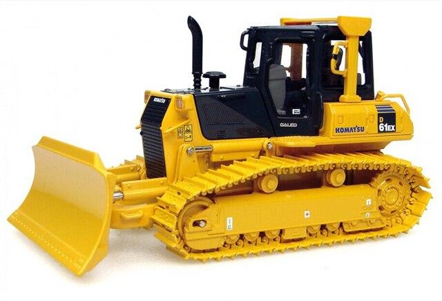 UH8000U 1:50 Komatsu D61EX Alloy truck model bulldozer 8000U Favorites Model