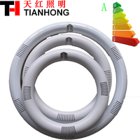 No strobe circular led tube light 205MM 11W 225MM 12W led circular fluorescent tube G10Q led tube light Aluminium die casting
