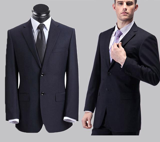 Homens frete grátis por atacado ternos de negócio 2016 dos homens vestido de terno do casamento terno masculino roupas de trabalho traje homme jaqueta + calça