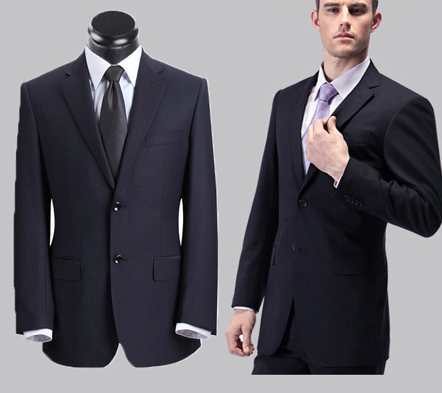 free shipping wholesale men business suits 2016 men dress wedding suit terno masculino work clothes costume homme jacket+pant