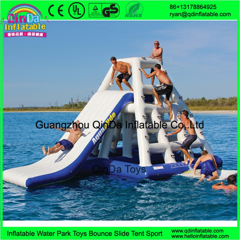 inflatable floating water slide22