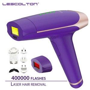 Image 5 - آلة إزالة الشعر بالليزر 700000 مرة Lescolton IPL 3in1 depilador a تهذيب بيكيني دائم آلة إزالة الشعر بالليزر