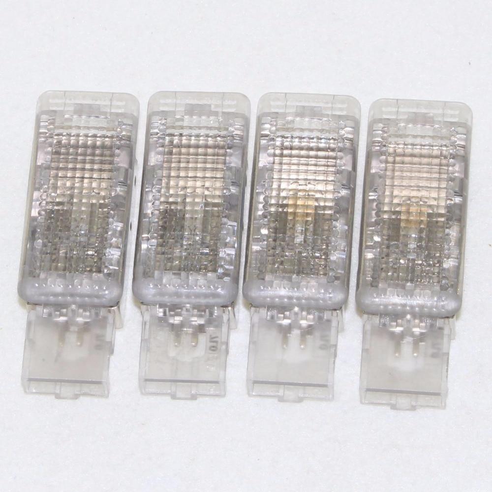 4Pcs OEM for Footwell Light For Golf 6 Jetta MK5 MK6 Tiguan Passat B6 5ND 947 415 7L0 947 415 7L0947415 4pcs oem interior light door warning light for golf 5 6 jetta mk5 mk6 cc tiguan passat b6 3ad 947 411
