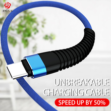 ASINA USB Type C Cable For Samsung 3.1 Quick Charge Nylon Braided Cables Huawei Xiaomi Android Mobile Phone