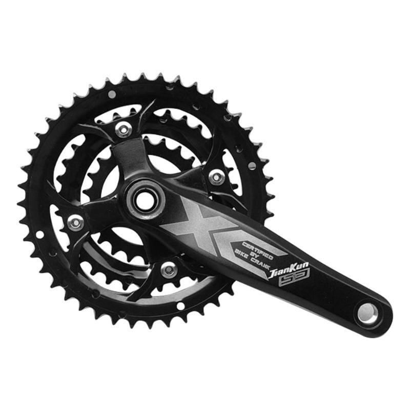 9/27 vitesse 44/32/22 T roue à chaîne en alliage d'aluminium VTT pédalier + pédalier pièces de vélo accessoires de vélo