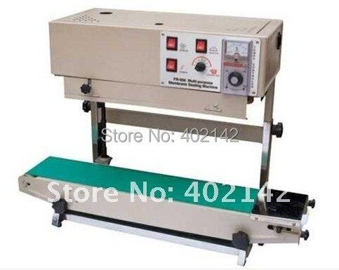100% гарантия FR-900V машина для запечатывания verical band, вертикальный Термоупаковщик для жидкости или пасты/соли/gralnule