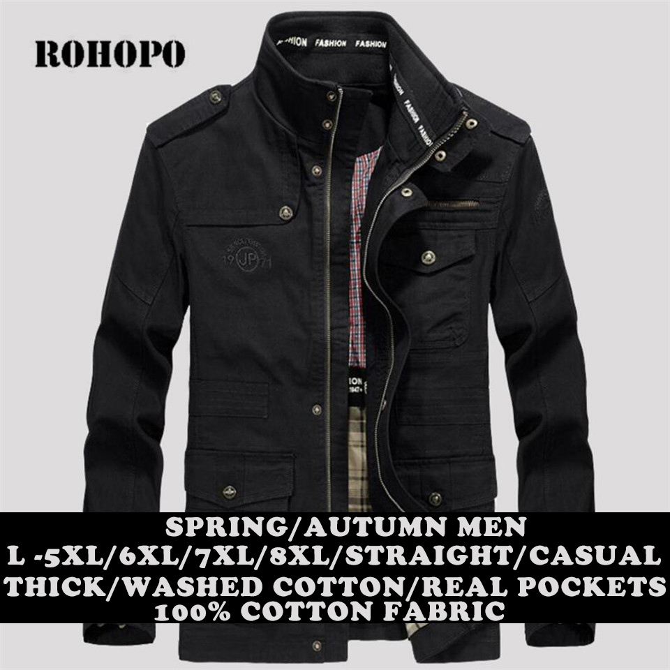 Sokotoo Men s pockets patchwork black cargo biker jeans for motorcycle Plus size slim fit pleated